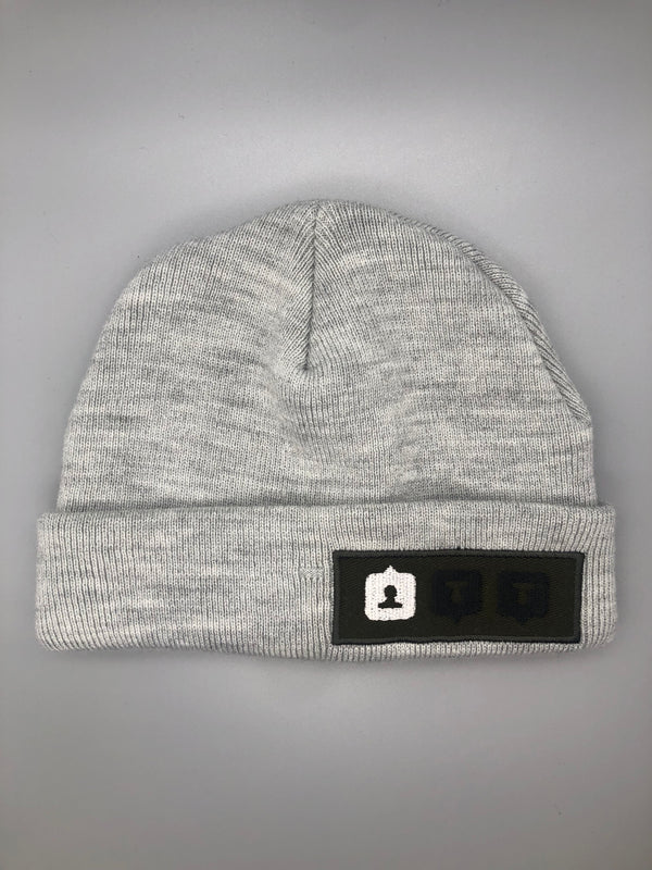 SOON II LIGHT GRAY BEANIE