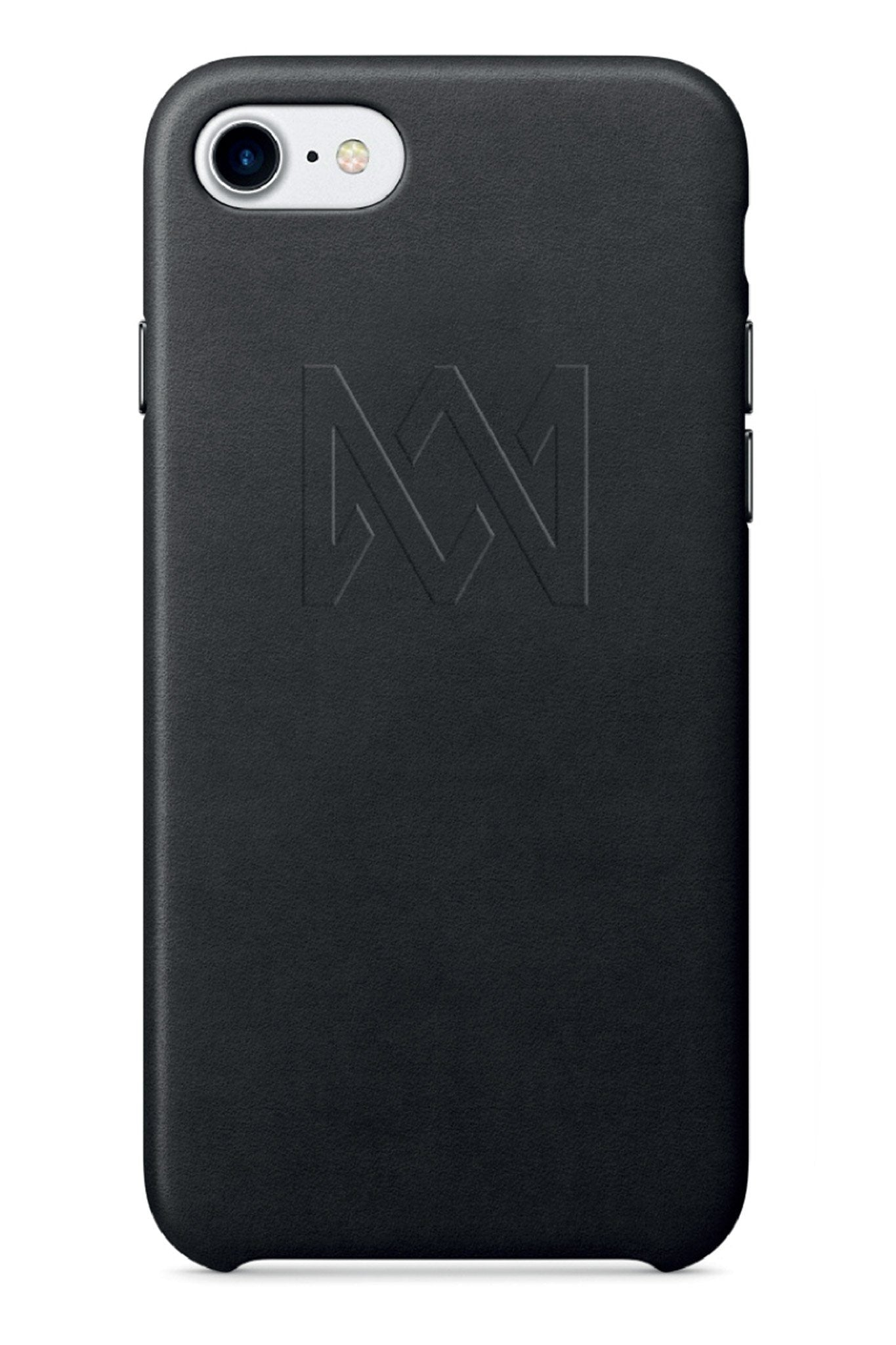Mobile Cover - Black Leather IPhone Case (Limited)