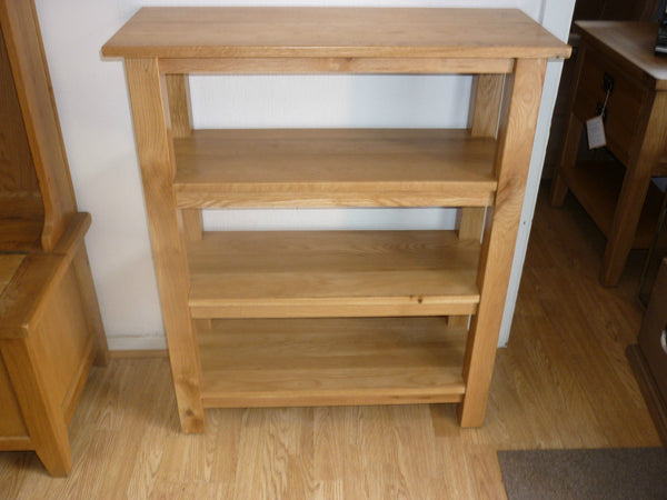 THE NEW VANCOUVER STYLE OAK OPEN BOOKCASE SAL024