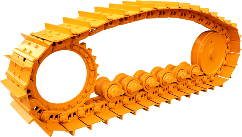 Example of a normal caterpillar track