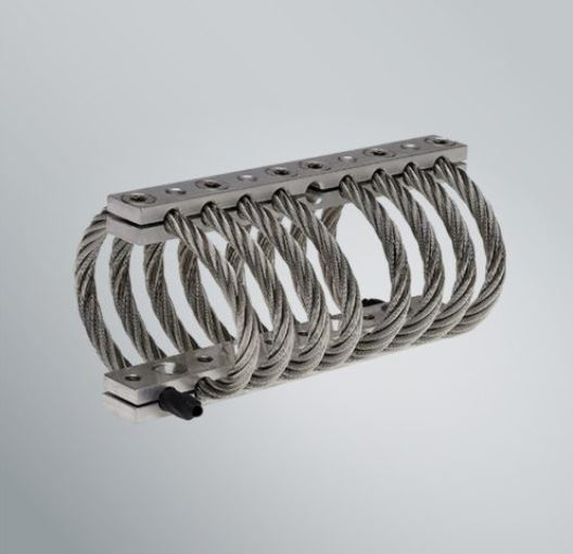 0.5 - 2000kg Helical Coil Wire Rope Mounts