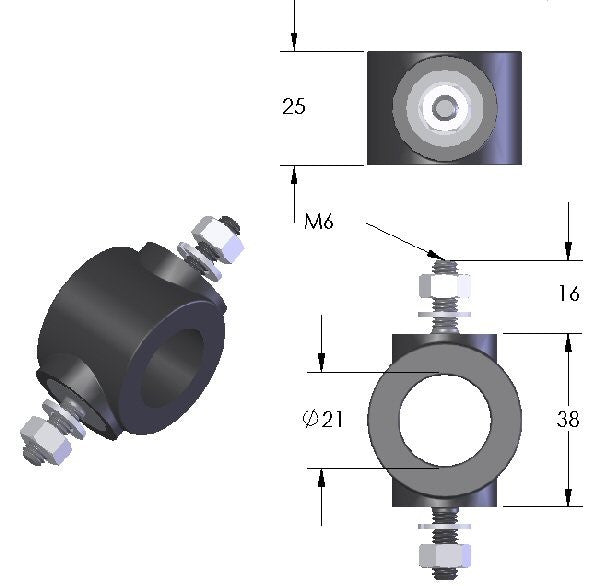 Low Frequency Bobbin (RLF) - Male/Male