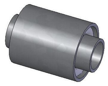 B605/9 Single Bonded Torsion Bush