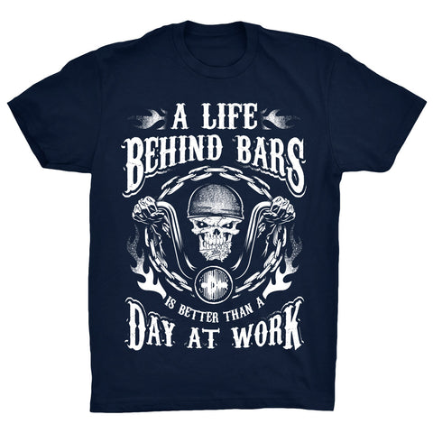 A life behind bars is better than a day at work -  - 2