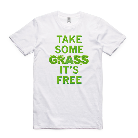 Take some grass its free -  - 1