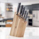 Curve Clam Knife Block