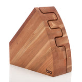 Angle Clam Knife Block