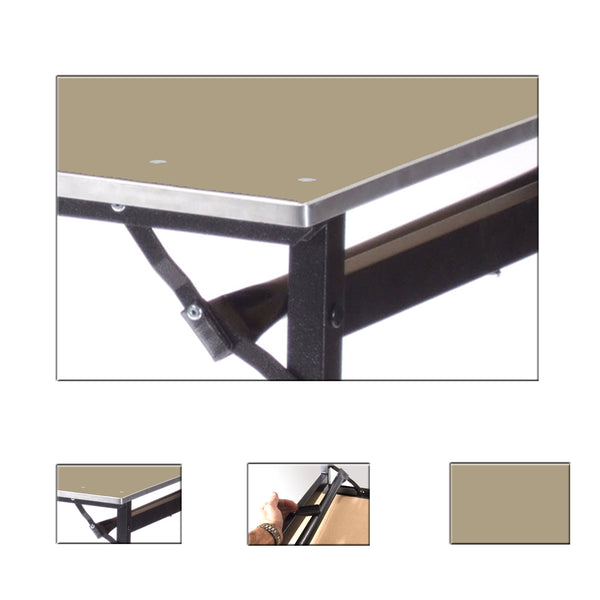 Deluxe folding tables heavy duty