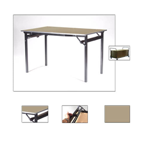 Deluxe Folding Flock Top Tables