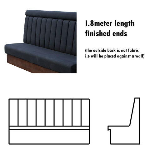 Bench Seat - 1.8 Meter Length High Back Bench Seat