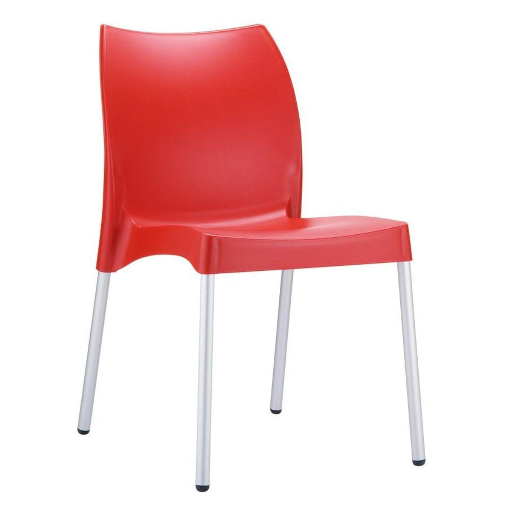 Stacking Chair - ICON Side Chair – ZA.475C – Red