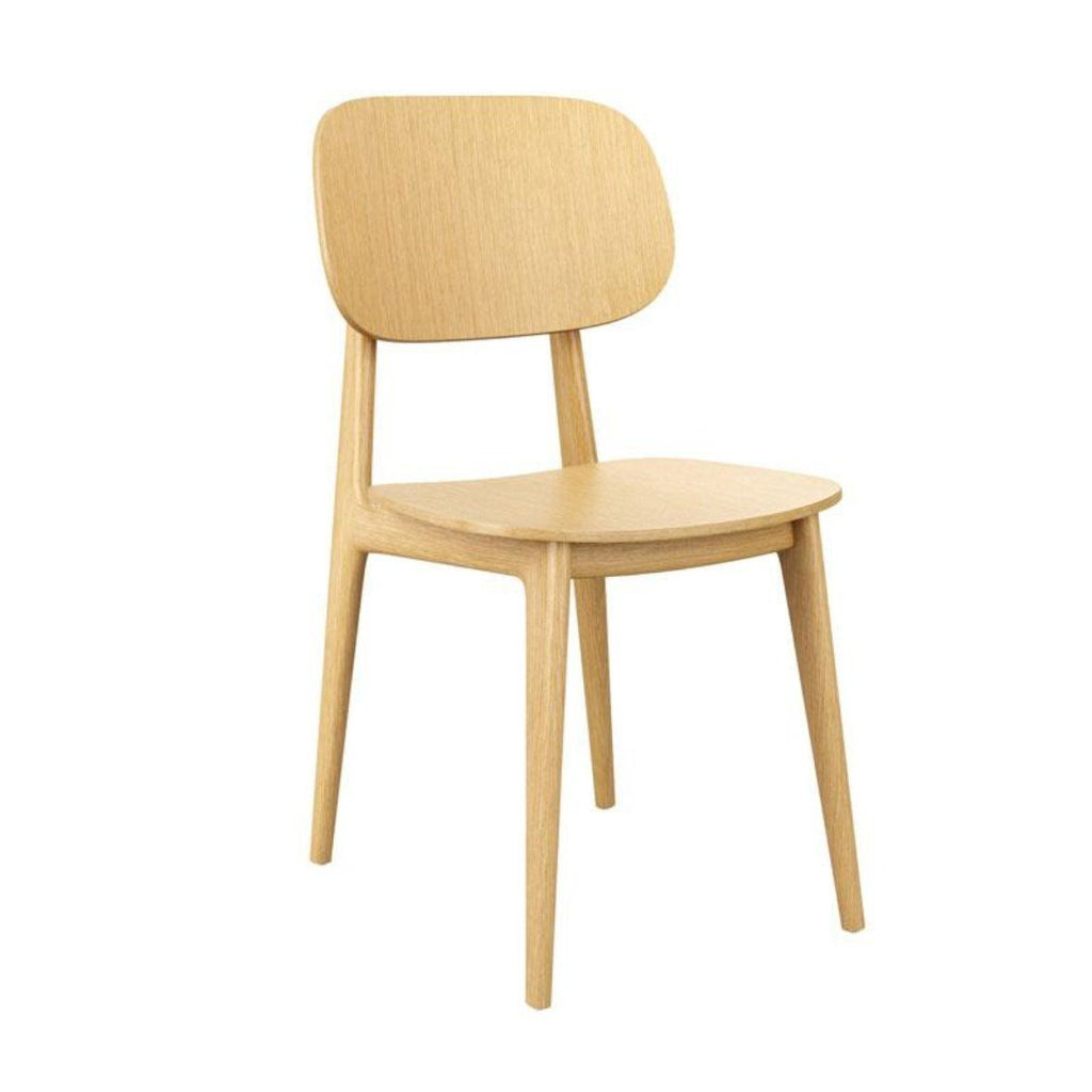 Stacking Chair - Relish Side Chair ZA.528c Natural Oak