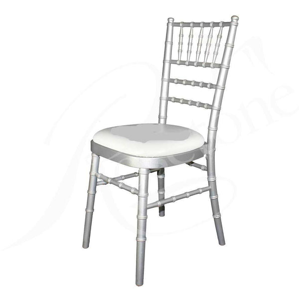 Stacking Chair - Silver Chiavari Chair