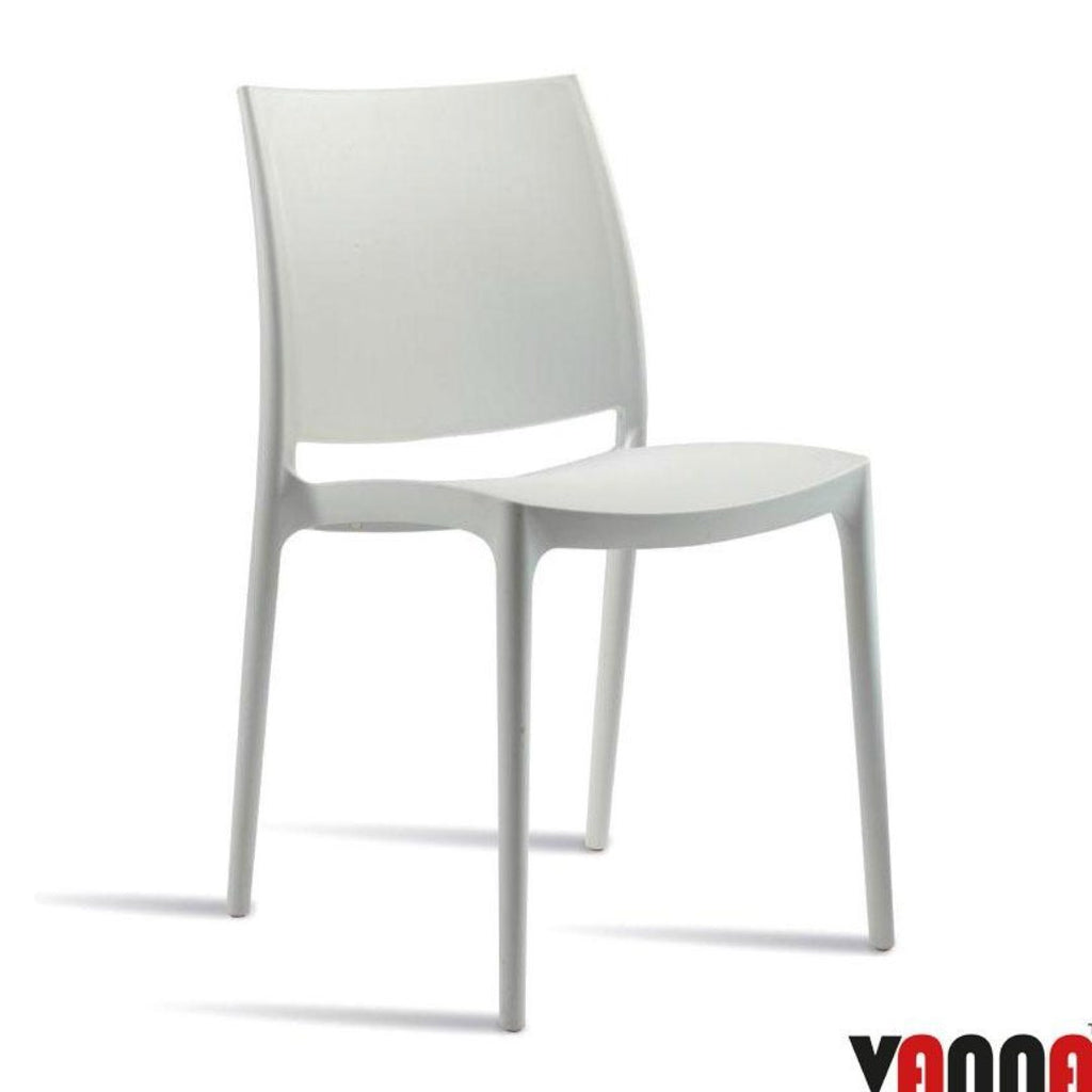Stacking Chair - SPICE Side Chair – ZA.103C – White
