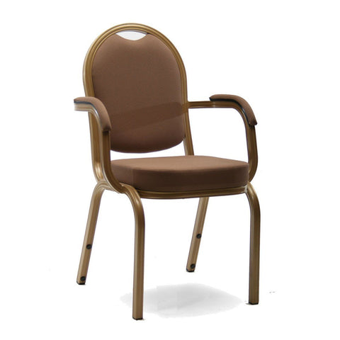 Stacking Chair - Spoon Arm Chair