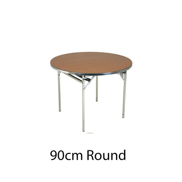 Tables - 90CM Round Ultra-Lite Folding Table
