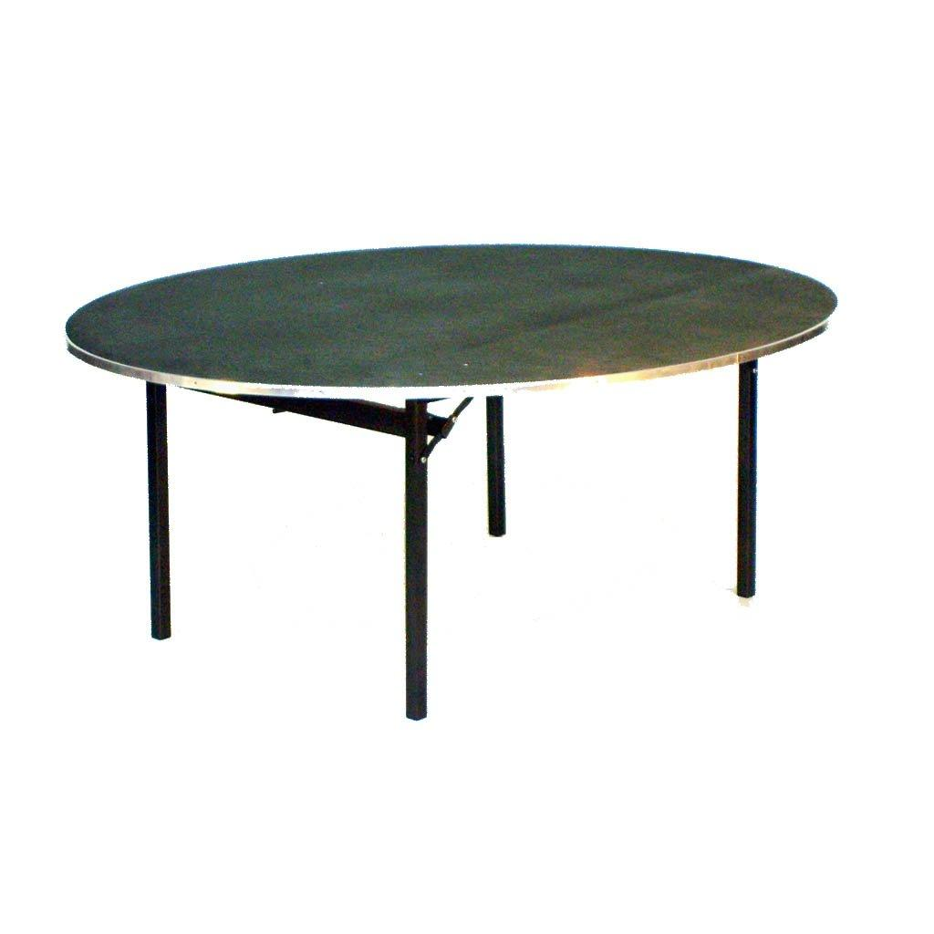 Tables - Deluxe Folding Tables Flock Top Heavy Duty Round
