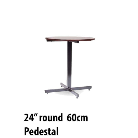 Tables - Pedestal Table Round 24""