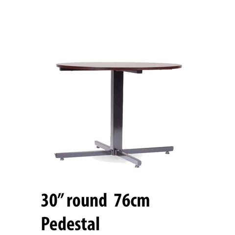 Tables - Pedestal Table Round 30""