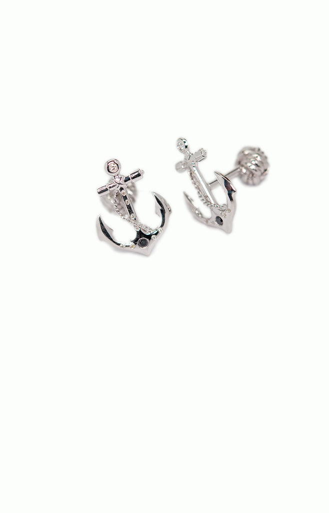 Anchor & Captain Wheel Set - Alice & Chains Jewelry, Houston Jewelry Designer