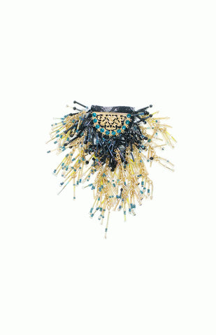 Beaded Epaulette - Alice & Chains Jewelry, fashion jewelry, Dobbs Ferry, Rivetowns, Westchester jewelry designer