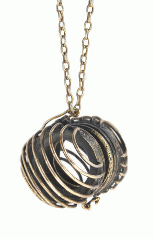 Alice & Chains Jewelry, Caged Locket, locket, Dobbs Ferry Jewelry Designer, Rivertowns Jewelry Designer, Westchester Jewelry Designer, one of a kind jewelry, bespoke jewelry