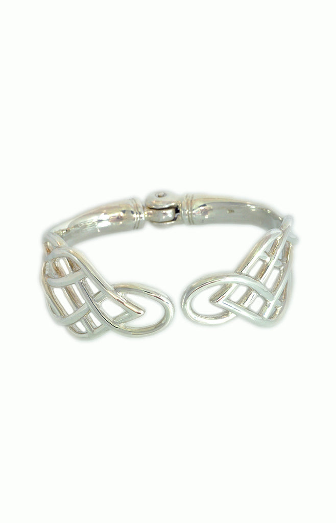 Celtic Cuff - Alice & Chains Jewelry, celtic knots, celtic jewelry, sterling silver bracelet, silver bracelet, Dobbs Ferry jewelry designer, Rivertowns Jewelry designer, Westchester jewelry designer