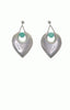 Chrysoprase Sterling Silver Earrings - Alice & Chains Jewelry, Dobbs Ferry jeweler, Westchester Jeweler