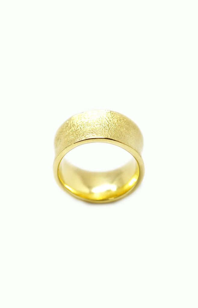Hammered Ring - Alice & Chains Jewelry, Houston Jewelry Designer
