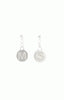 Alice & Chains Jewelry - Heart Initial Sterling Silver Earrings