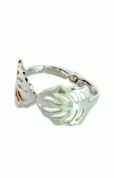 Leaf Cuff - Alice & Chains Jewelry, Dobbs Ferry Jeweler, Westchester Jeweler