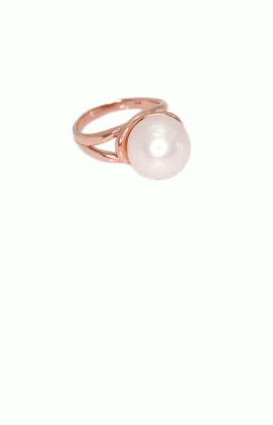 Pearl Ring - Alice & Chains Jewelry, Houston Jewelry Designer