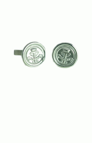 Custom Silver Cufflinks - Alice & Chains Jewelry, Houston Jewelry Designer