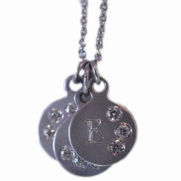 Initial Necklace - Alice & Chains Jewelry, Houston Jewelry Designer