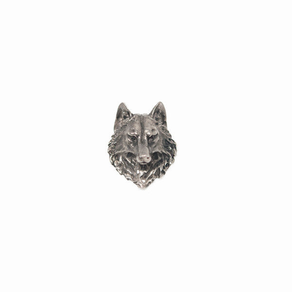 Wolf Lapel Pin - Alice & Chains Jewelry, Houston Jewelry Designer