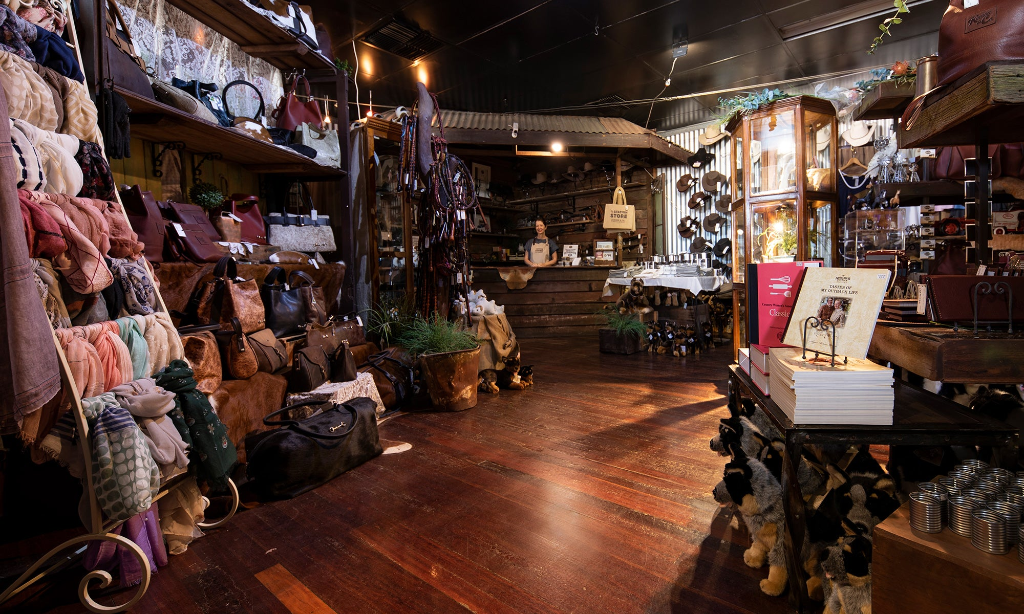 Discover The Station Store - an outback shopping emporium in the heart of Longeach, Queensland