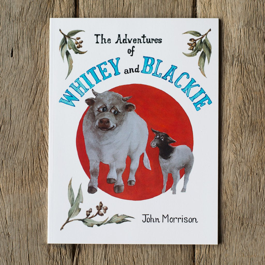 The Adventures of Whitie and Blackie book