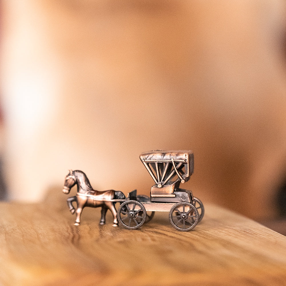 Pencil Sharpener Die Cast Horse & Buggy with Top