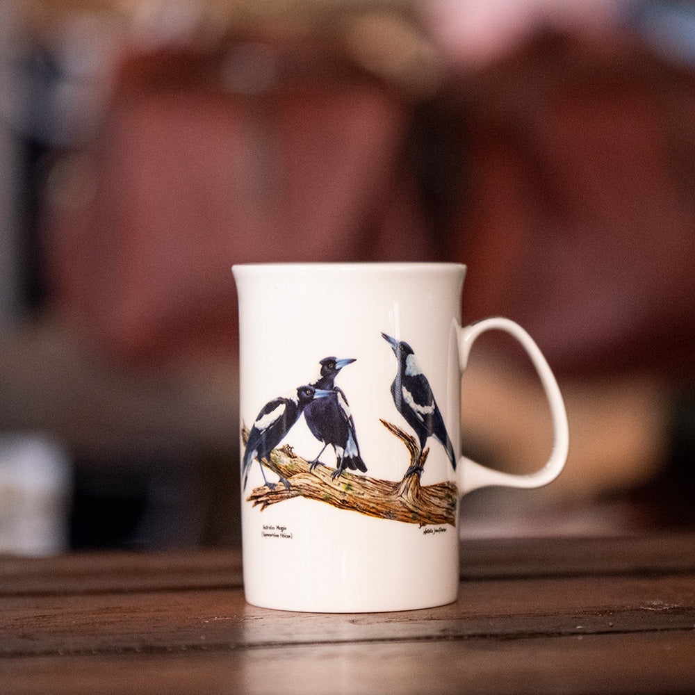 Ashdene Birds of Australia Collection - Magpie Mug