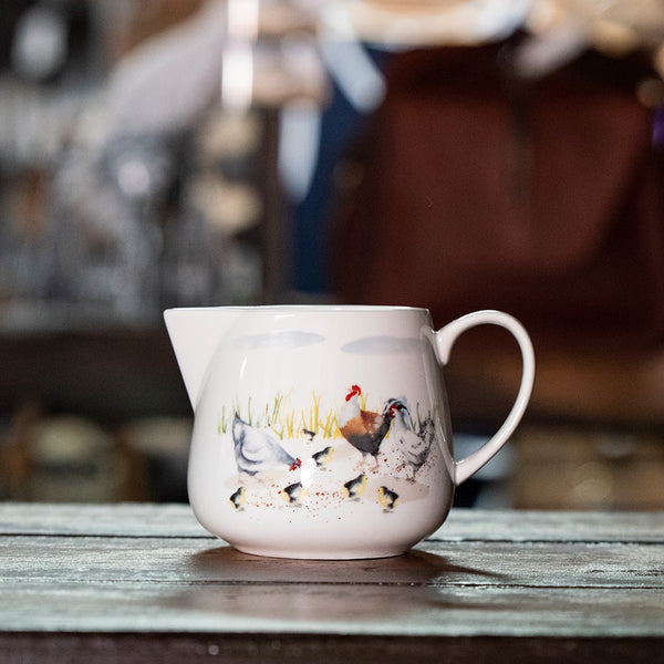 Ashdene Country Chickens Collection - Creamer Jug