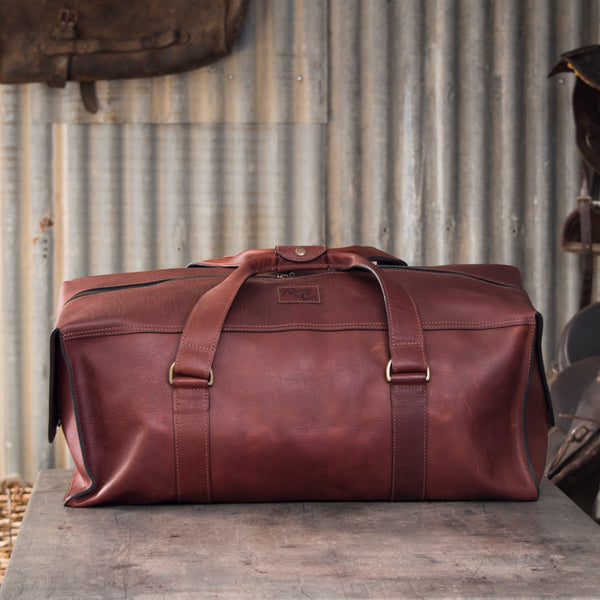 Kinnon and Co Leather Traveller Bag - Medium