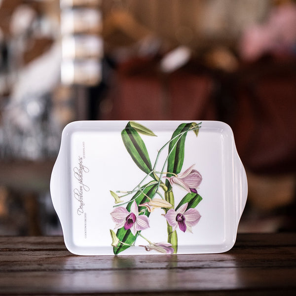 Ashdene Australian Floral Emblems Collection - Cooktown Orchid Scatter Tray