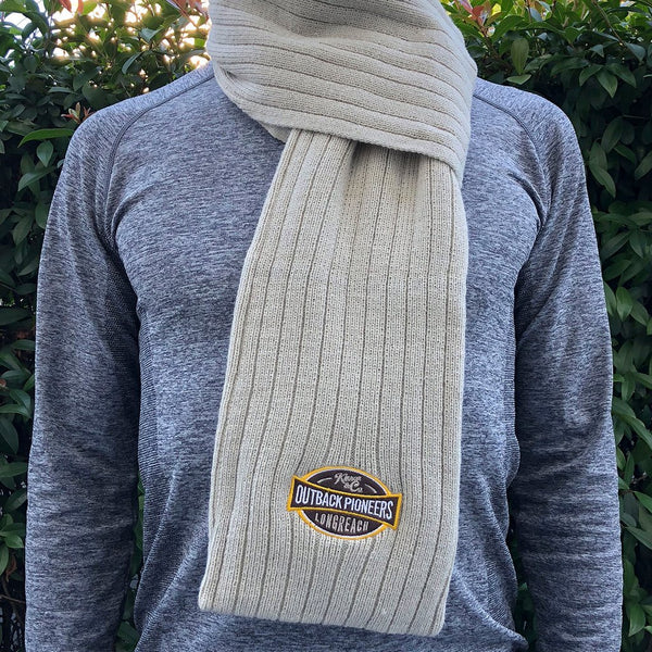 Outback Pioneers Cable Knit Scarf
