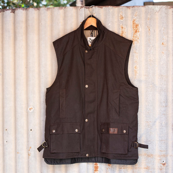 Capricorn Oilskin Vest Brown