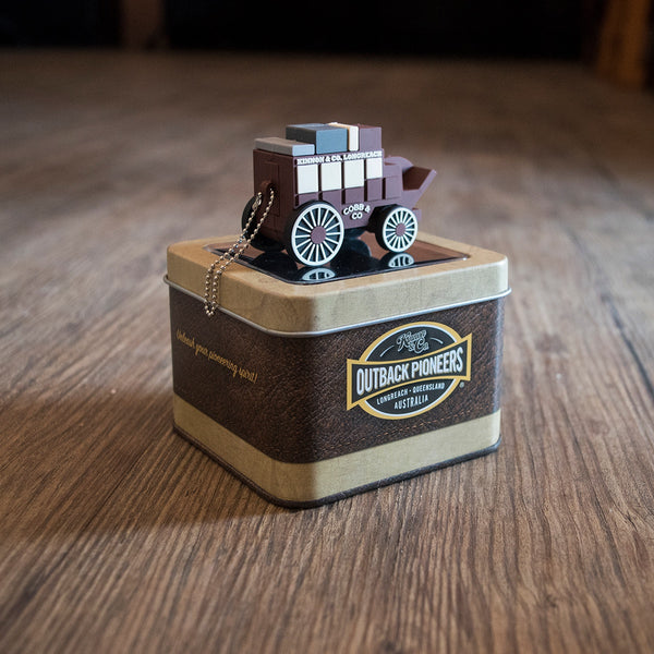 Outback Pioneers Novelty Stagecoach 8GB USB with Souvenir Tin