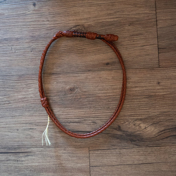 Whip Hat Band - Kangaroo Leather
