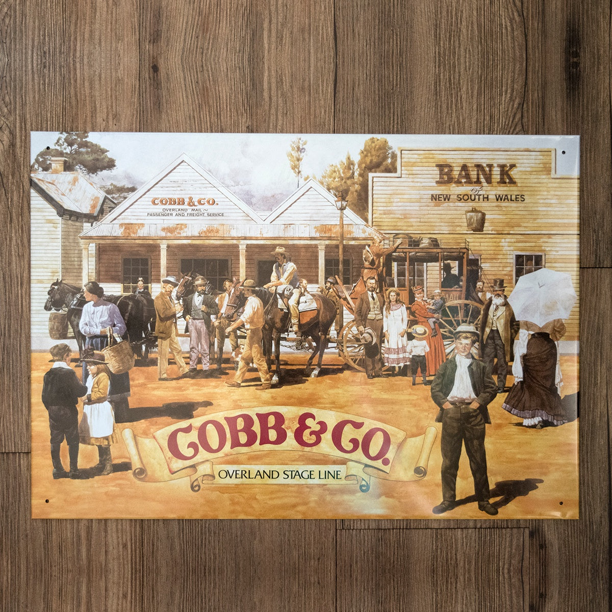 Cobb and Co. Heritage Tin Sign