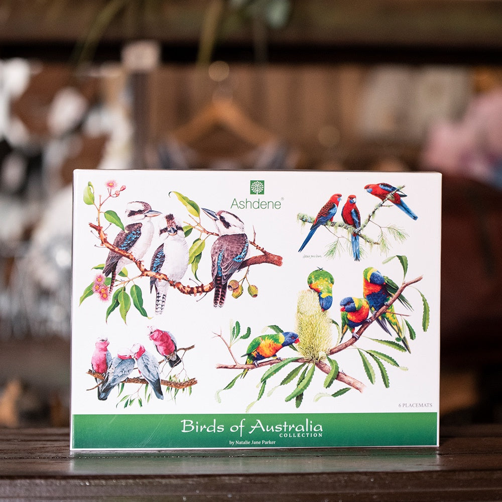 Ashdene Birds of Australia Collection -  Placemats Set of 6