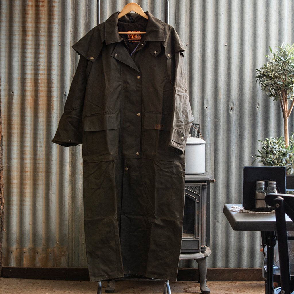 Balranald Long Full Length Oilskin Coat