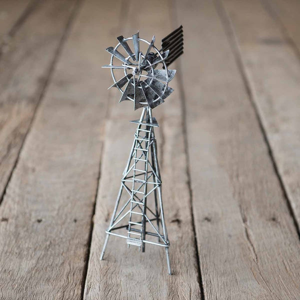 Metal Novelty Windmill model